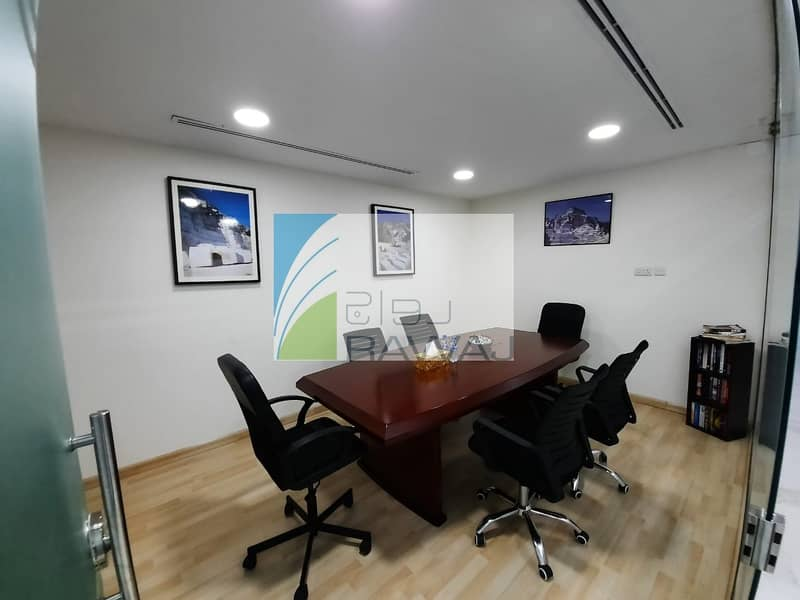 2 Beautiful Fully Furnished Small Offices for Rent