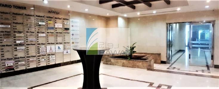 مکتب  للبيع في الخليج التجاري، دبي - SPACIOUS SHELL and CORE OFFICE FOR SALE IN ONTARIO TOWER