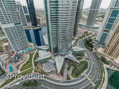 1 Bedroom Flat for Rent in Jumeirah Lake Towers (JLT), Dubai - Exclusive|Chiller Free|Furnished with Lake View