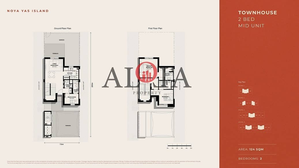 9 2BR Townhouse | prime location | ADM Fees waiver