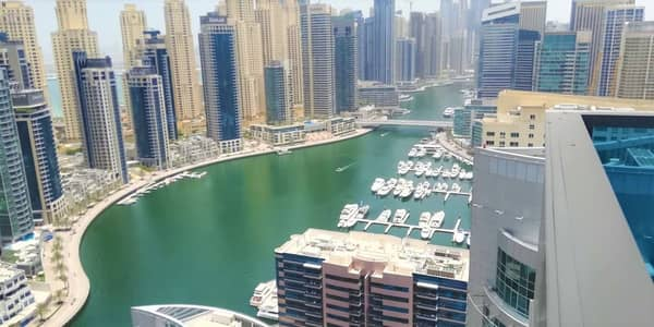 4 Bedroom Penthouse for Rent in Dubai Marina, Dubai - LUXURY PENTHOUSE CHILLER FREE CLOSE TO METRO N BEACH