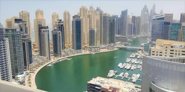 4 Bedroom Penthouse for Rent in Dubai Marina, Dubai - LUXURY PENTHOUSE CHILLER FREE CLOSE TO METRO N BEACH