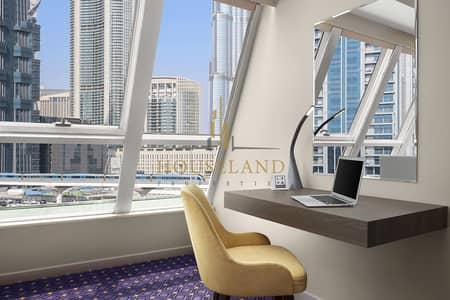 Hotel Apartment for Rent in Sheikh Zayed Road, Dubai - Hotel apartment / business bay / amazing offer