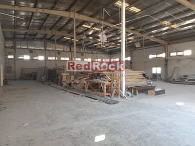 Warehouse for Rent in Al Quoz, Dubai - Only 2.5% Commission 13000 Sqf in Al Quoz with 50 Kw Power