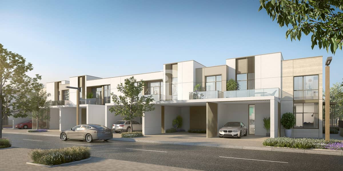 3 & 4 BR TOWNHOUSES IN 3 ARCHITECTURAL STYLES