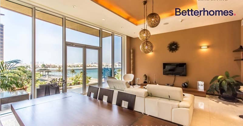 Sea & Pool View | Fully Furnished | 2 Parkings