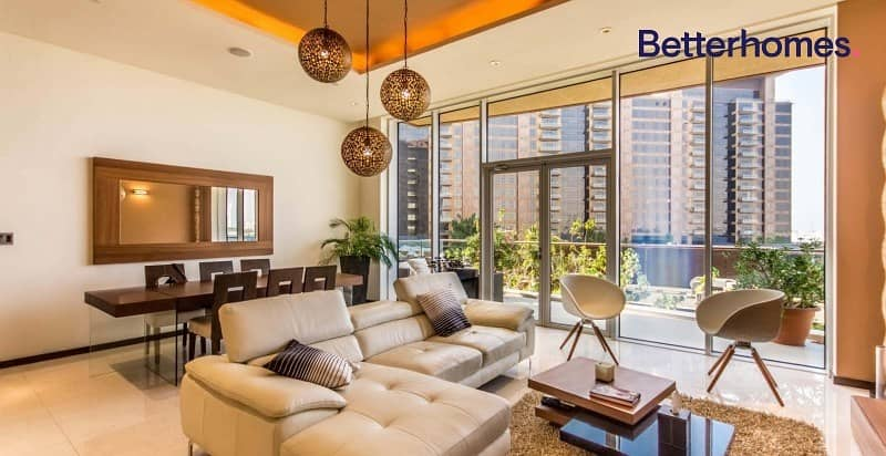 2 Sea & Pool View | Fully Furnished | 2 Parkings