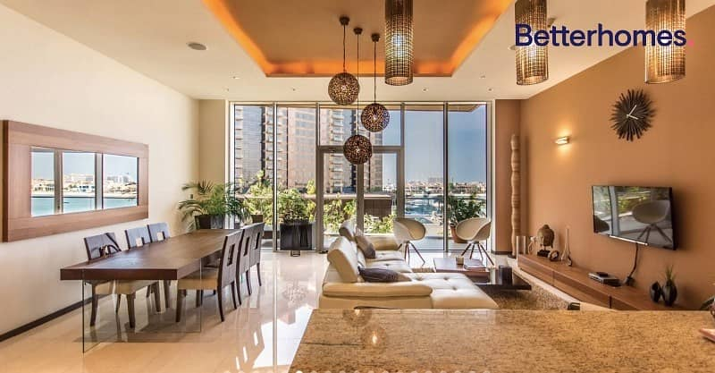 8 Sea & Pool View | Fully Furnished | 2 Parkings