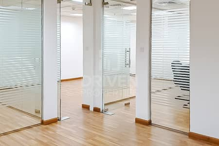 مکتب  للبيع في أبراج بحيرات الجميرا، دبي - Well-manage and Spacious | Fitted Office