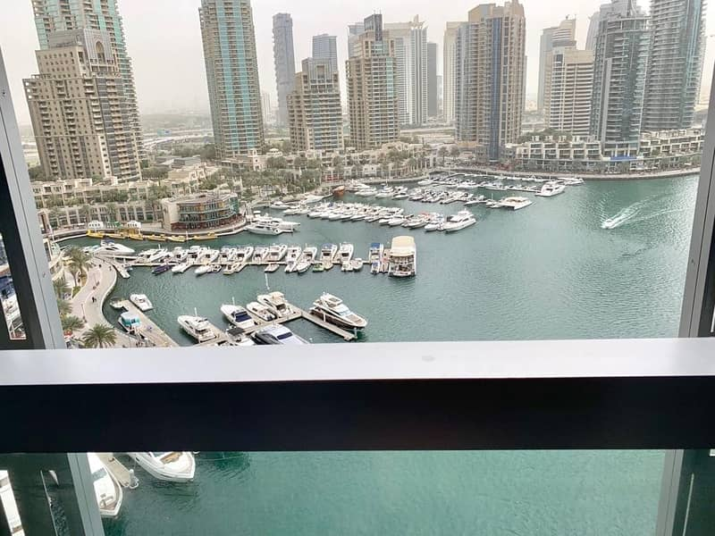 Fully Furnished | Low Floor | Full Marina Views