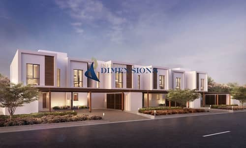 3 Bedroom Townhouse for Sale in Yas Island, Abu Dhabi - Great Investment I Brand New 3BR Townhouse