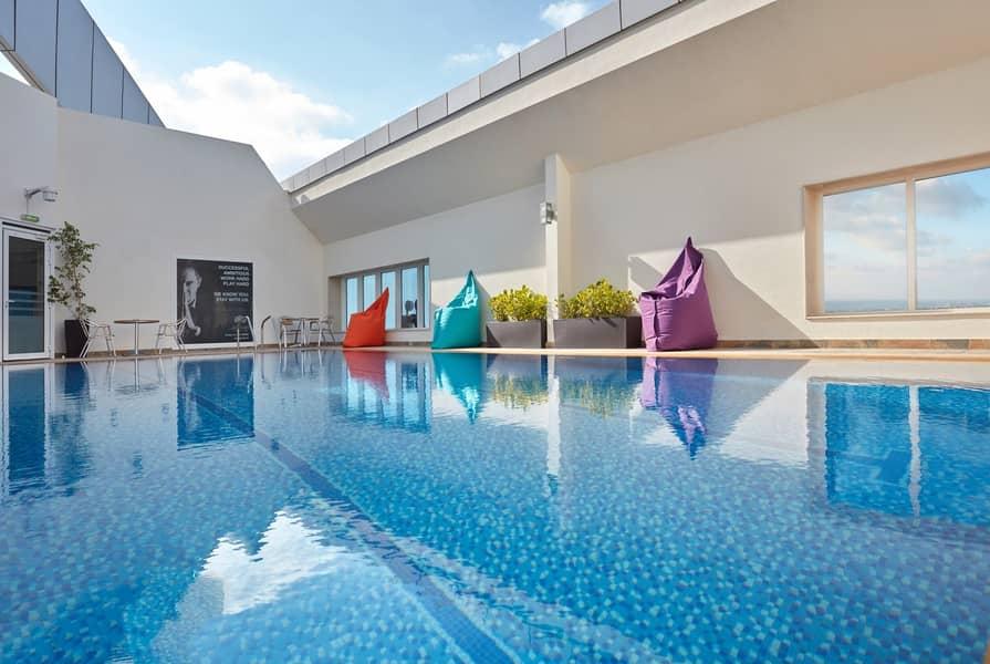 9 Studio Room for rent in Abu Dhabi.