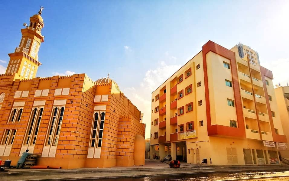 spacious studio with balcony for just aed 13000 per year