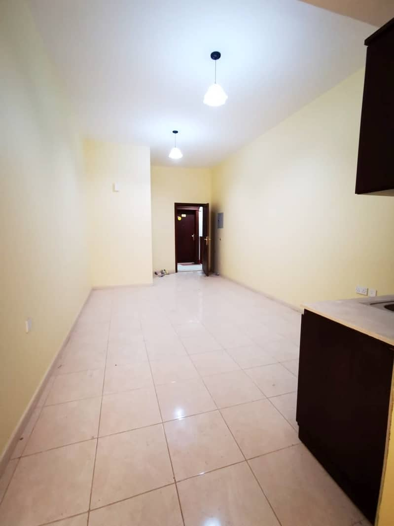 2 spacious studio with balcony for just aed 13000 per year
