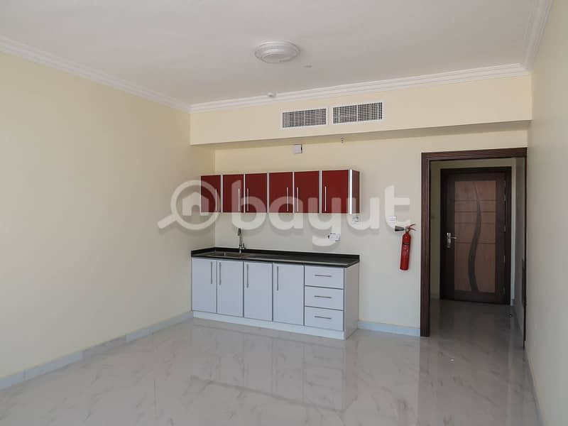 2 Brand New!! Huge Studio for just aed 15000/year