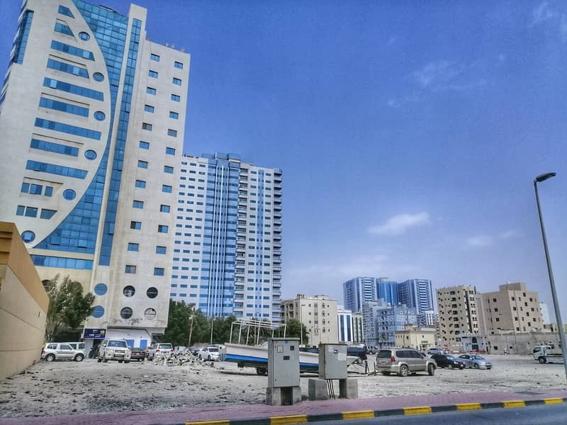 ON MAIN CORNICHE!! 9504 SQFT COMMERCIAL AND RESIDENTIAL PLOT  FOR SALE