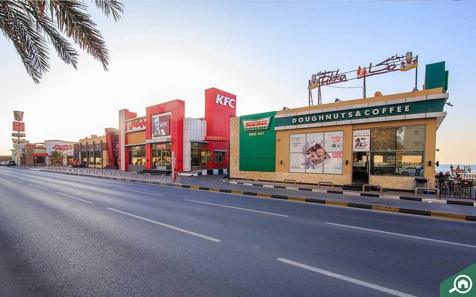 2 ON MAIN CORNICHE!! 9504 SQFT COMMERCIAL AND RESIDENTIAL PLOT  FOR SALE