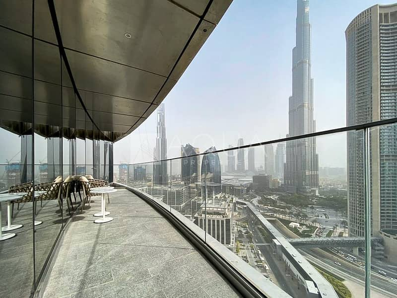 10 Brand New Exclusive With Full Burj Views