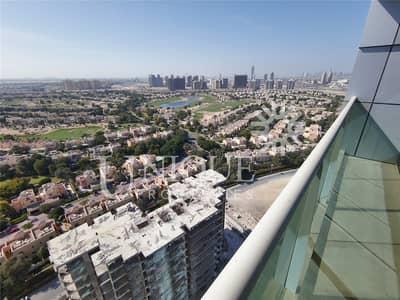2 Bedroom Apartment for Sale in Dubai Sports City, Dubai - 2BR Duplex High Floor Amazing Golf Course view