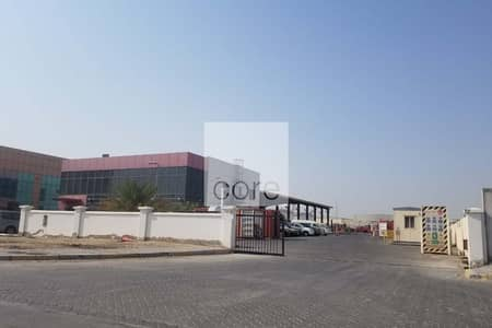 Plot for Rent in Mussafah, Abu Dhabi - Commercial Land | With Office Building