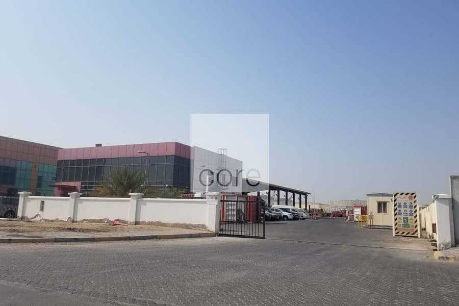 Commercial Land | With Office Building