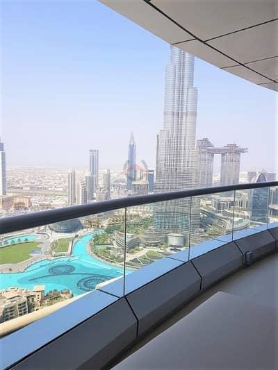 شقة فندقية 2 غرفة نوم للايجار في وسط مدينة دبي، دبي - Can b 3 Month | 04 Series | Full Fountain View | All Bills Incl