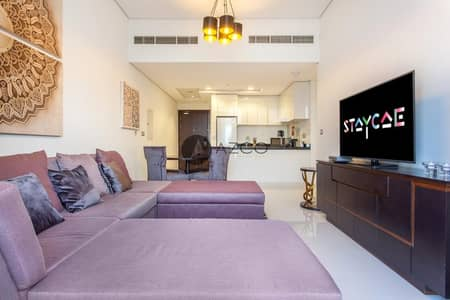 2 Bedroom Flat for Rent in Jumeirah Village Circle (JVC), Dubai - Hot Offer | Fully Furnished 2BHK | Luxury Layout