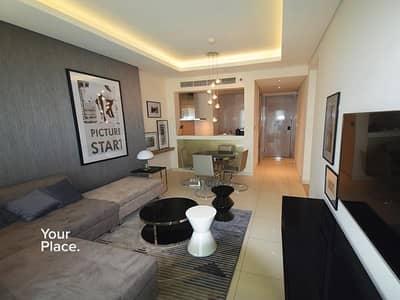 شقة 2 غرفة نوم للايجار في الخليج التجاري، دبي - Best Tower - Luxury Furnishing