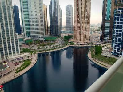 1 Bedroom Apartment for Rent in Jumeirah Lake Towers (JLT), Dubai - One bedroom/ high Floor/ Lake view