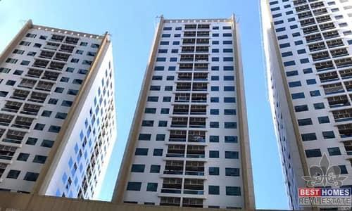استوديو  للايجار في عجمان وسط المدينة، عجمان - شقة في أبراج لؤلؤة عجمان عجمان وسط المدينة 13000 درهم - 4919253