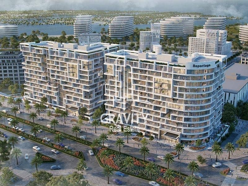 11 Residential Building in Yas Island | Inquire Now