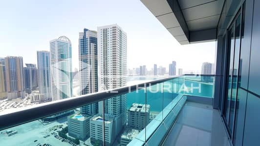 3 Bedroom Apartment for Rent in Al Khan, Sharjah - 3 BR | Exquisite & Luxurious Apartment | Free Rent up to 3 Months