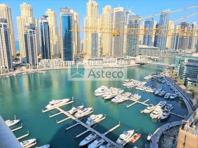 شقة 2 غرفة نوم للايجار في دبي مارينا، دبي - 1 Month Free | 2 Balconies | Marina View