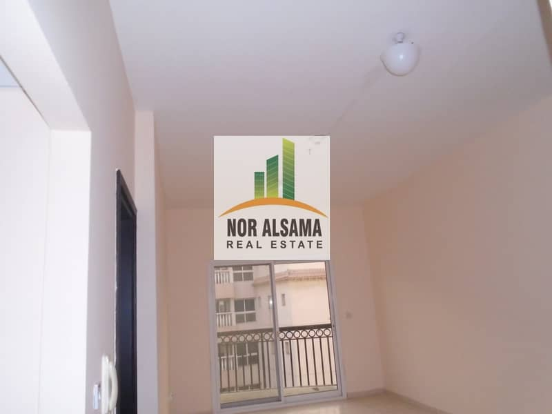2 Ready to Move!! 1 bedroom  with balcony for rent !! Covered parking !! Riviera Dreams!! 27000 by 4 chqs