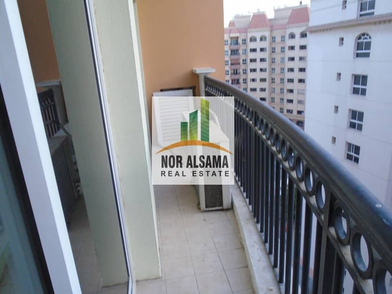 14 Ready to Move!! 1 bedroom  with balcony for rent !! Covered parking !! Riviera Dreams!! 27000 by 4 chqs
