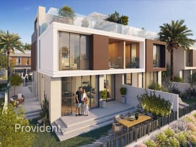 3 Bedroom Townhouse for Sale in Dubai Hills Estate, Dubai - Golf Course|3 Years Post Handover|Roof Access