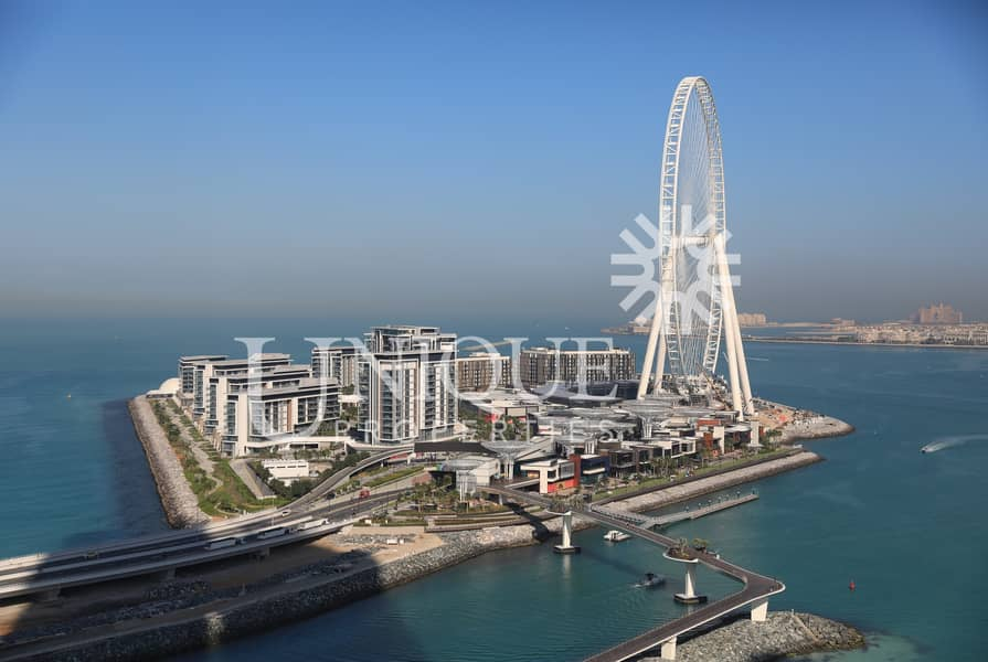 Exclusive Penthouse with Bluewaters and Marina View