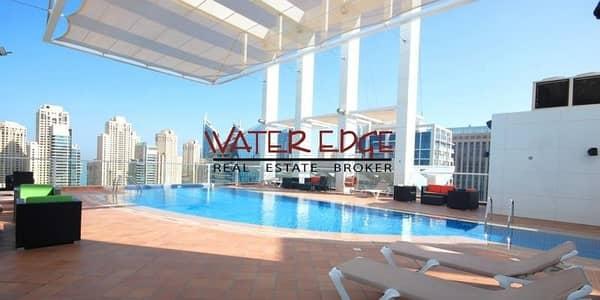 2 Bedroom Flat for Sale in Dubai Marina, Dubai - LUXURY LARGE 2BR CHILLER FREE NEXT TO METRO