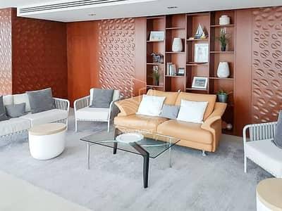 بنتهاوس 4 غرف نوم للبيع في شاطئ الراحة، أبوظبي - Captivating Sea View & Fully Furnished Apt w/ Rent Refund!