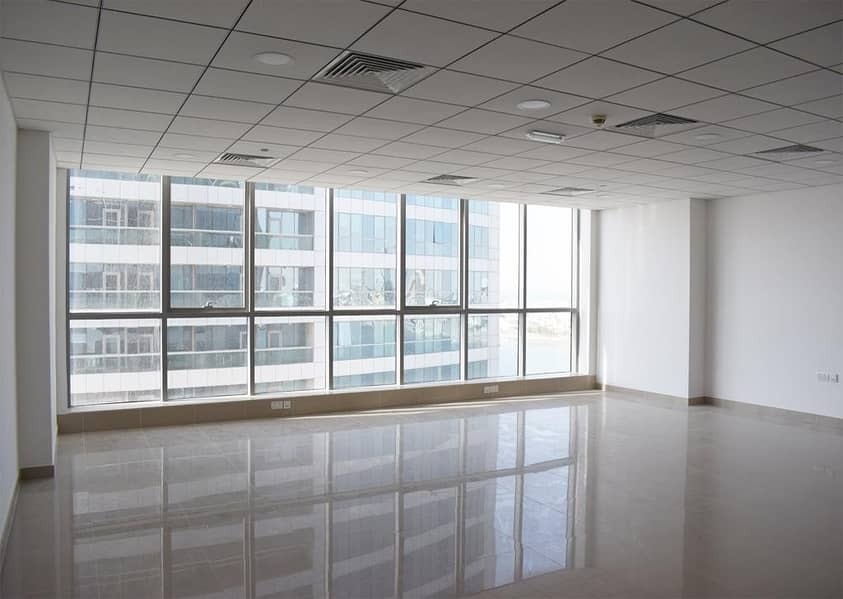 2 *2- Large Size Offices | For Sale| Julphar Towers.