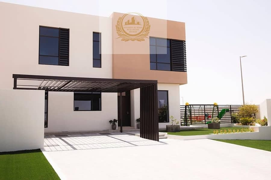 2 Luxury villa ready to move for sale in Sharjah