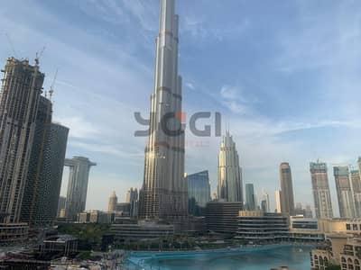 2 Bedroom Apartment for Rent in Downtown Dubai, Dubai - Spacious 2 BR -The Residences Tower 1- Dubai