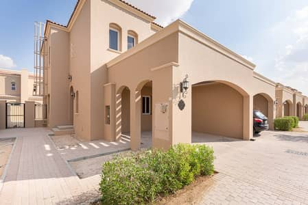 3 Bedroom Townhouse for Sale in Serena, Dubai - Private Garden | Unfurnished | Open Kitchen
