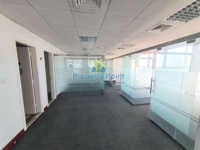 Office for Rent in Airport Street, Abu Dhabi - 87 SQM Fitted Office Space for RENT   1-4 Payments   Airport Road