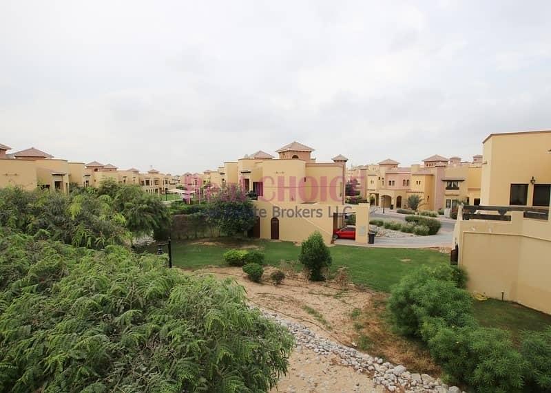 13 Upfloor 2bedroom villa with easy 12 chqs ayment plan