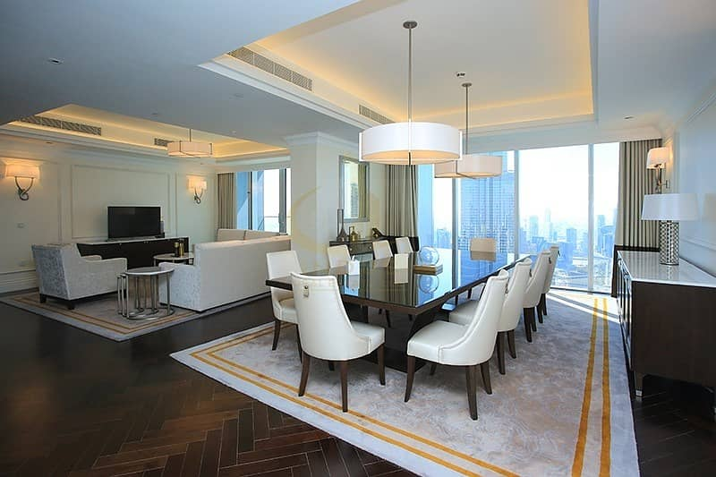 4BR+M The Address The Blvd | Burj and Fountain Views