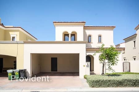 3 Bedroom Villa for Rent in Arabian Ranches 2, Dubai - Single Row | Landscaped | White Wood