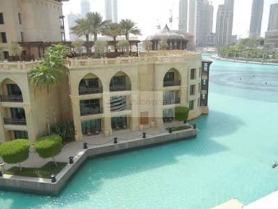 شقة 2 غرفة نوم للايجار في وسط مدينة دبي، دبي - Large 2BR with Large Terrace | Full Fountain View