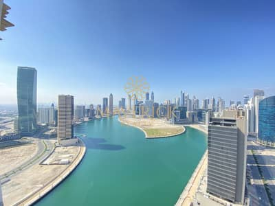 1 Bedroom Apartment for Rent in Business Bay, Dubai - Brand New Furnished 1BR | Full Canal View