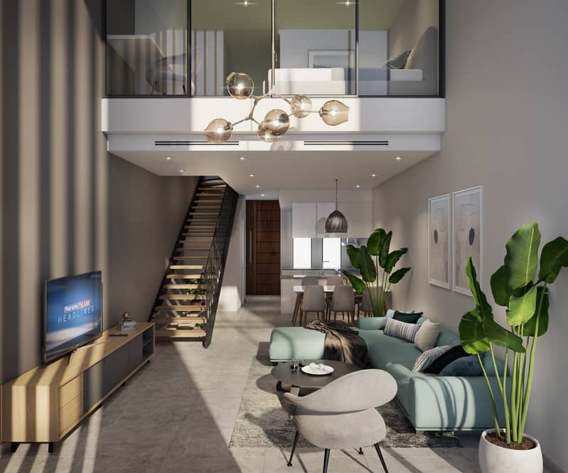 2 Amazingly Priced one bedroom loft townhouse  with flexible payment plan